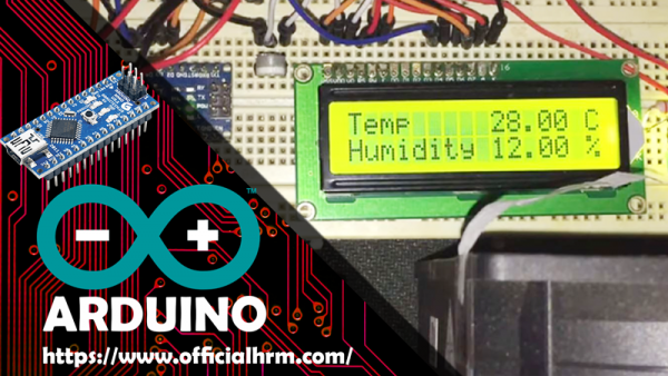 Arduino Nano Temperature Fan temp Sensor DHT11