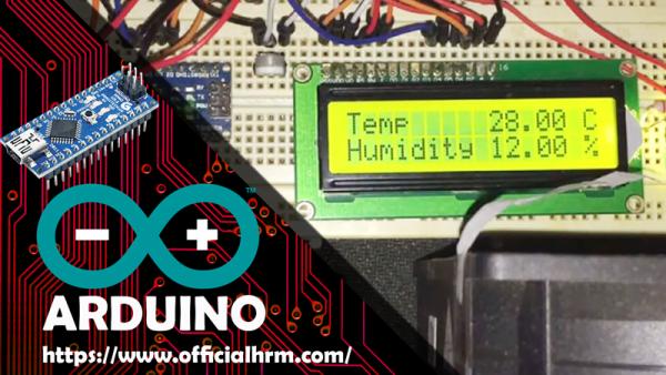 Arduino Nano Temperature Fan temp Sensor DHT11