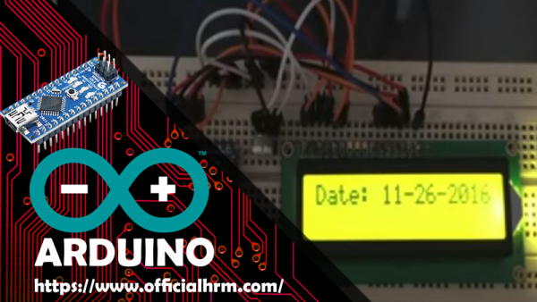 Control LCD Display with Arduino and Visual basic