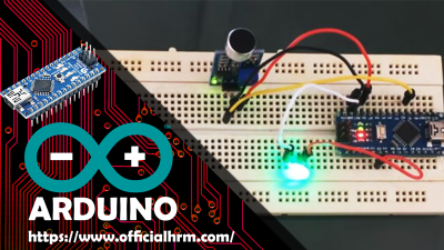Arduino Nano and Sound Detection Sensor Modul LM393