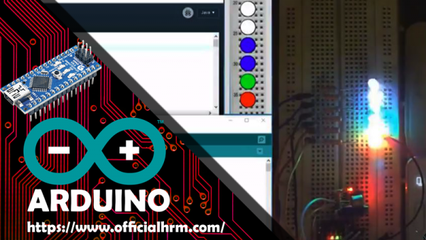 Arduino Nano noise levels with LEDs and Processing code