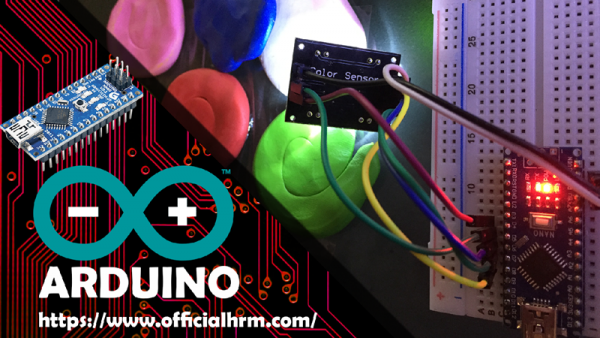 Arduino color recognition