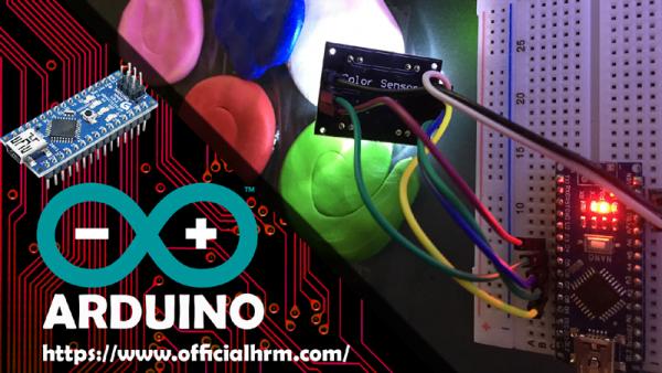 Color Recognition Sensor - Arduino Nano