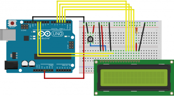 Control LCD Display