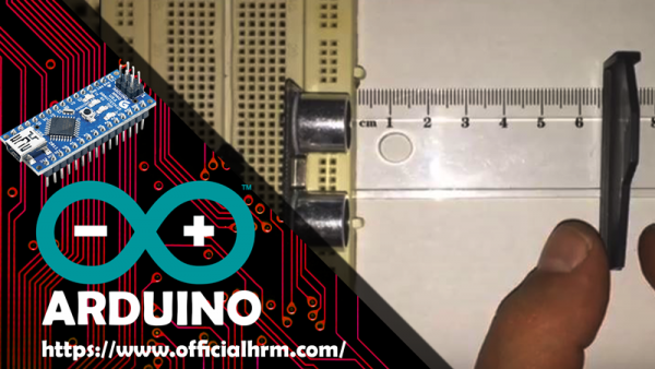 HC-SR04 Arduino Nano