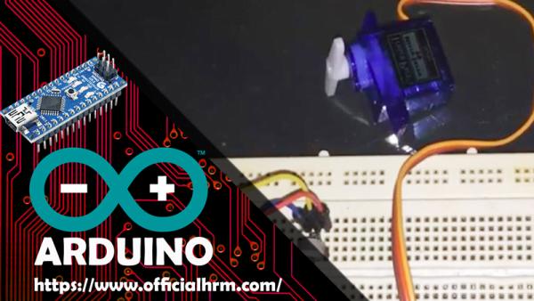 Arduino Nano Servo Motor